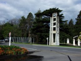 The Park bell tower in Masterton.