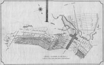 Masterton was laid out in the shape of a cross in 1854