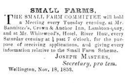 Small Farms Associations