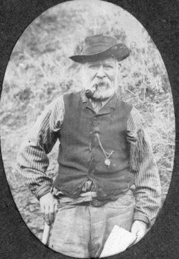 Photo of New Zealand's most notorious killer, the Irishman Tom Long.