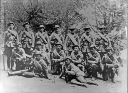 Masterton members of the 4th Contingent to the South African War