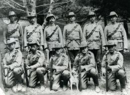 Greytown soldiers
