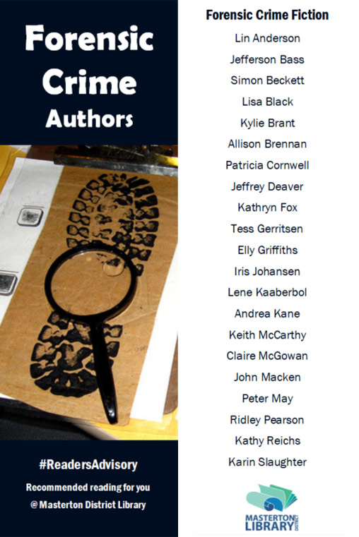 Forensic Crime Authors
