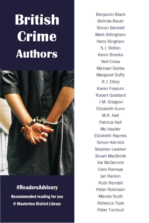 British Crime Authors