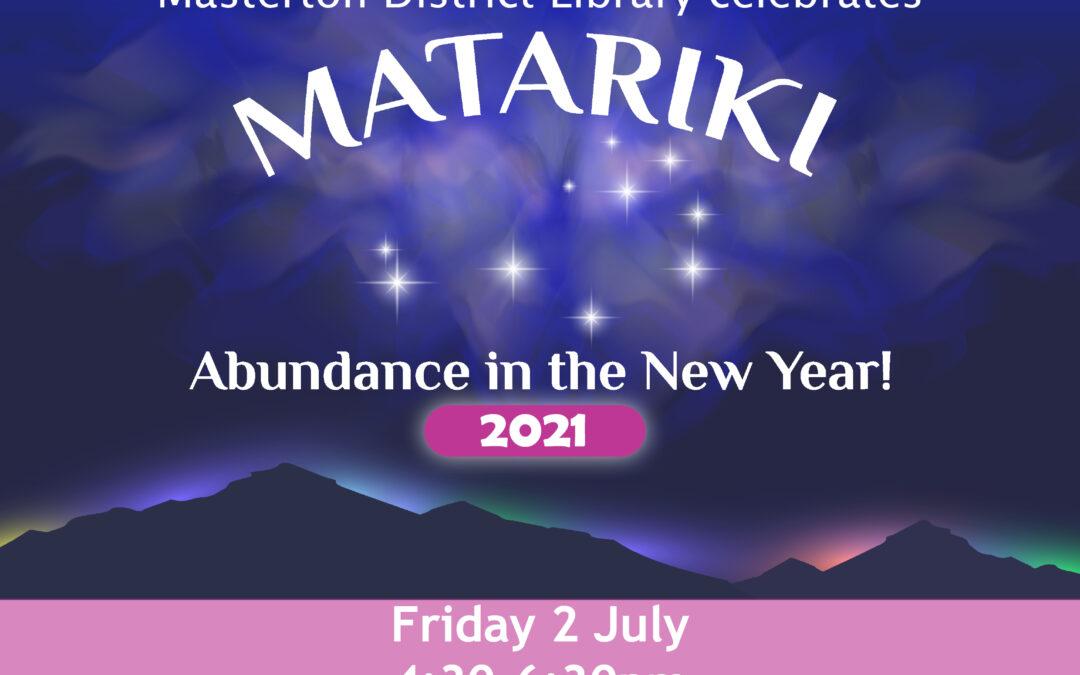 Masterton District Library celebrates Matariki
