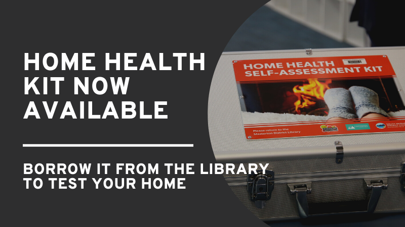 Home health self-assessment kit – Reserve and borrow it at Masterton library